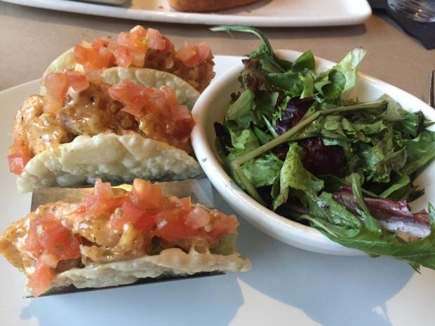 Bang Bang Shrimp Crispy Tacos via dallasfoodnerd.com