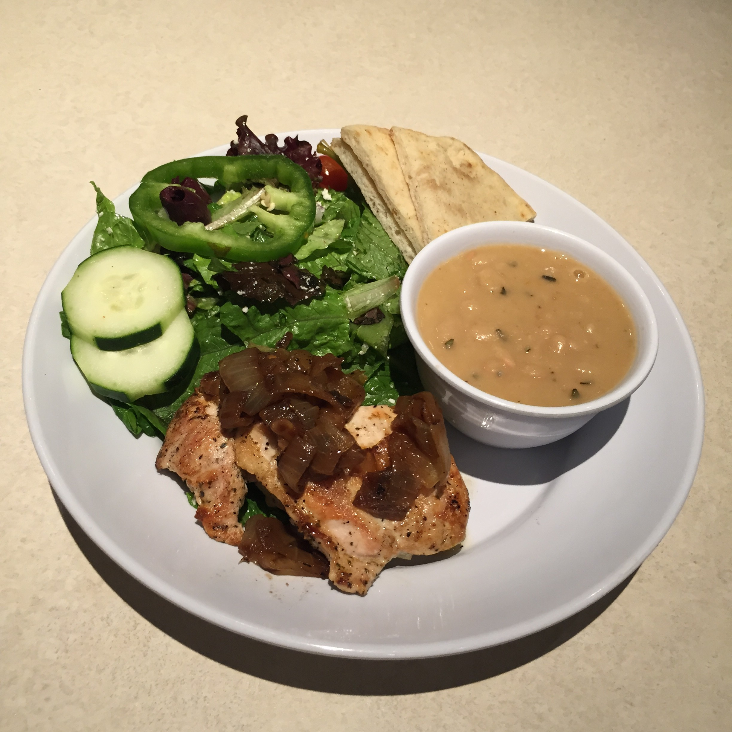 Zoes Kitchen Greek Chicken Pita zoes kitchen adds new entree and more hummus options to its menu