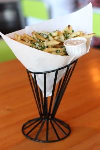 Truffle Fries at Hopdoddy via dallasfoodnerd.com