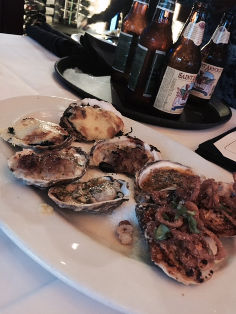 baked oysters at ocean prime via dallasfoodnerd.com