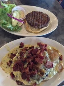 burgers at kenny's burger joint via dallasfoodnerd.com
