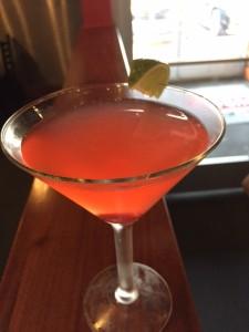 cherry limeade cocktail at kenny's burger via dallasfoodnerd.com
