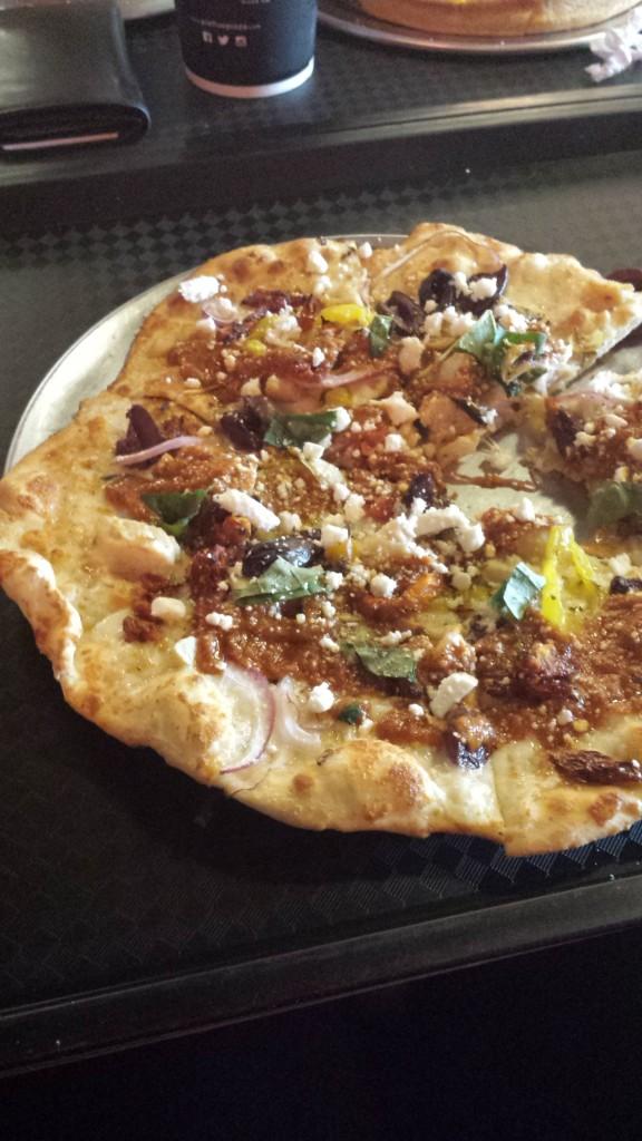 Athenian pizza
