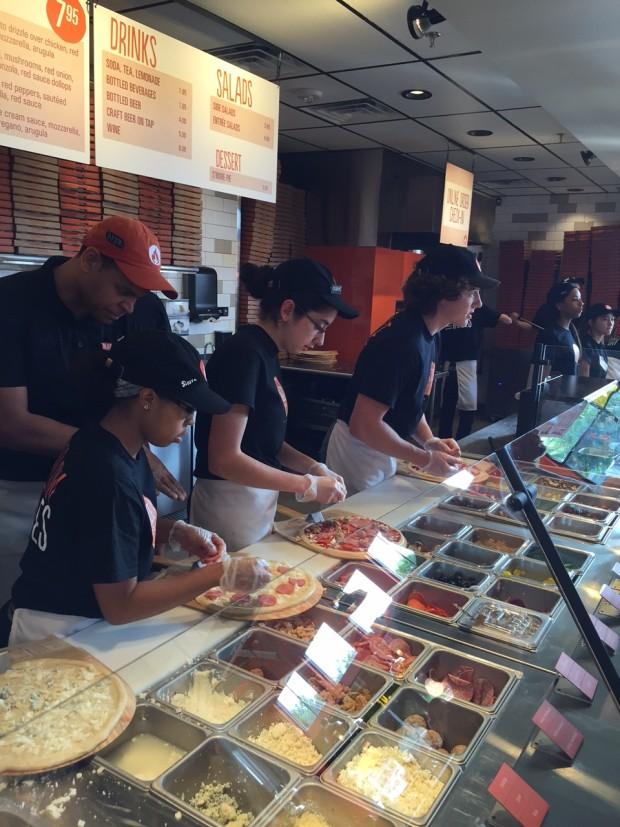 Blaze Pizza opens in dfw via dallasfoodnerd.com