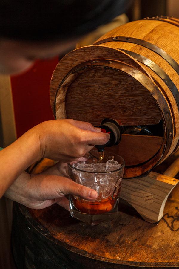 House Smoked Bourbon via dallasfoodnerd.com