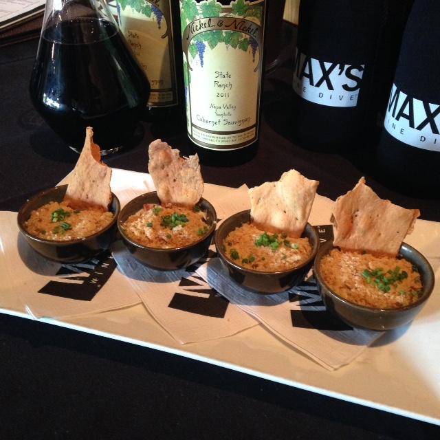 Blue Crab & Bacon Dip via dallasfoodnerd.com