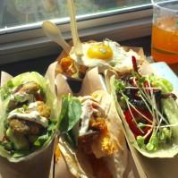 New veggie tacos at Velvet Taco