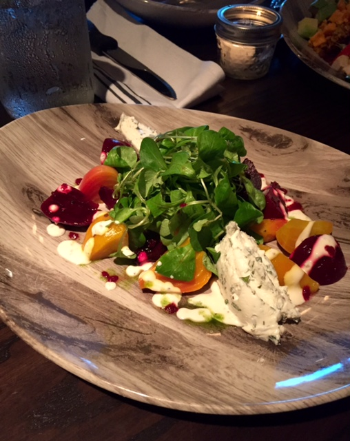 Local Goat Cheese and Baby Beet Salad