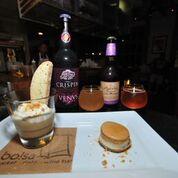 Butterscotch Pudding with Seal Salt Caramel Macaron