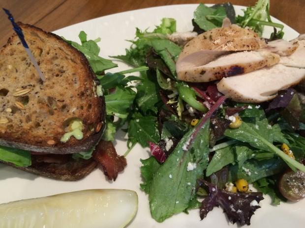 BLT+A with Farmer Salad