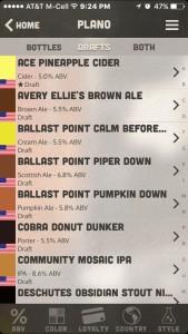 World of Beer Mobile App