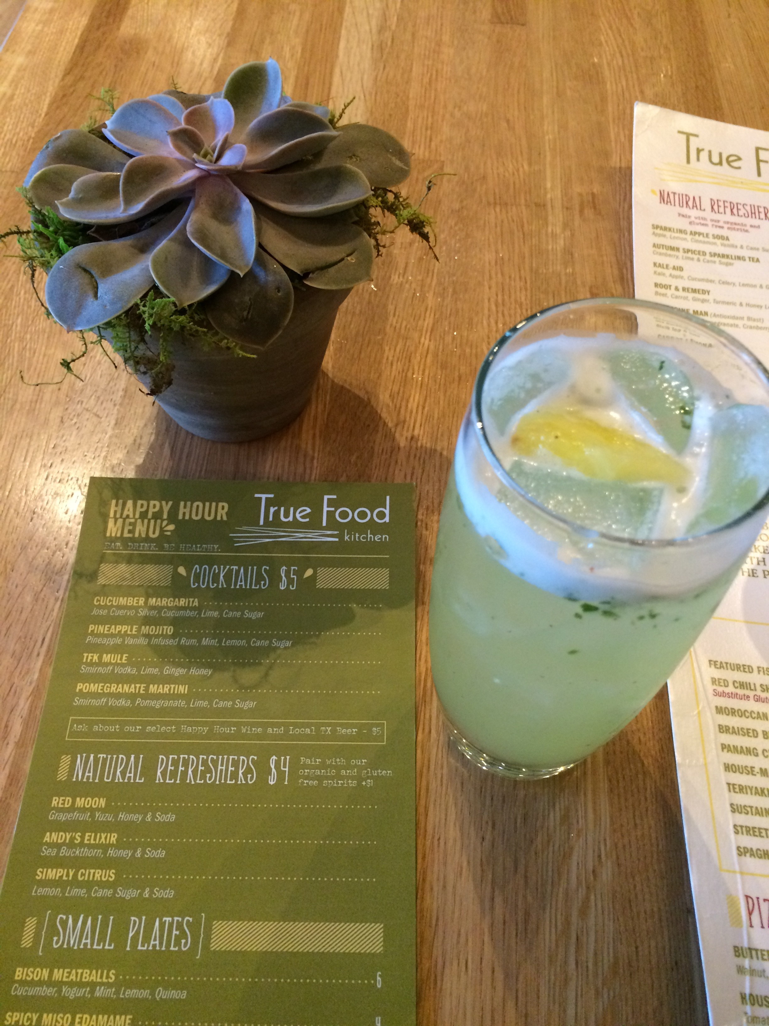 Happy Hours Bellies at True Food Kitchen Dallas Food Nerd
