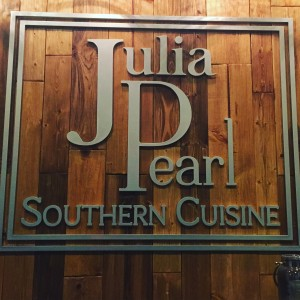 Julia Pearl Southern Cuisine and Southern Cooking