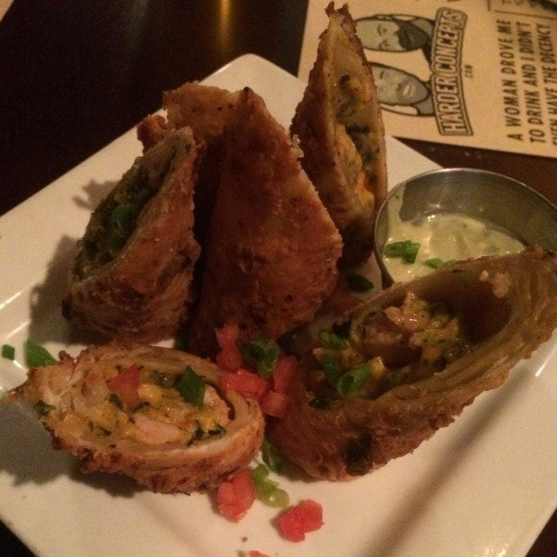 Southwest Eggrolls at Ringo's Pub