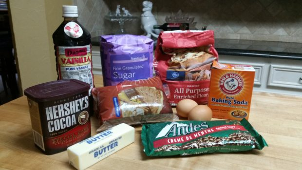 Chocolate Mint Chip Ingredients