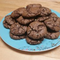 {Recipe} Holiday Sweets: Chocolate Mint Chip Cookies