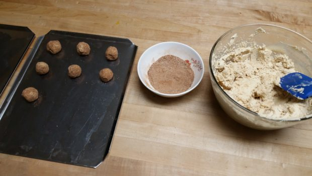 Snickerdoodle Ball Rolling
