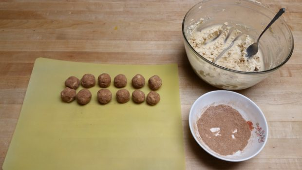 Snickerdoodle Ball Rolling 2