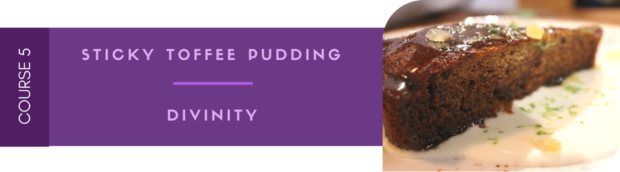 Barley and Board Community Table - Toffee Pudding and Divinity