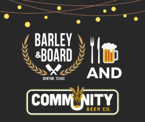 Barley and Board Hosts Community Beer for Community Table Dinner