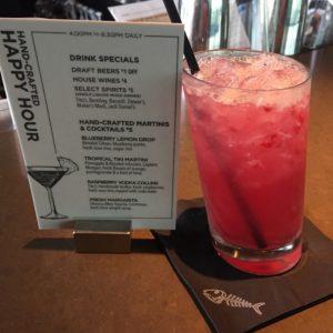 Happy Hour Raspberry Vodka Collins