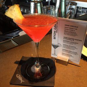 Happy Hour Tropical Tiki Martini