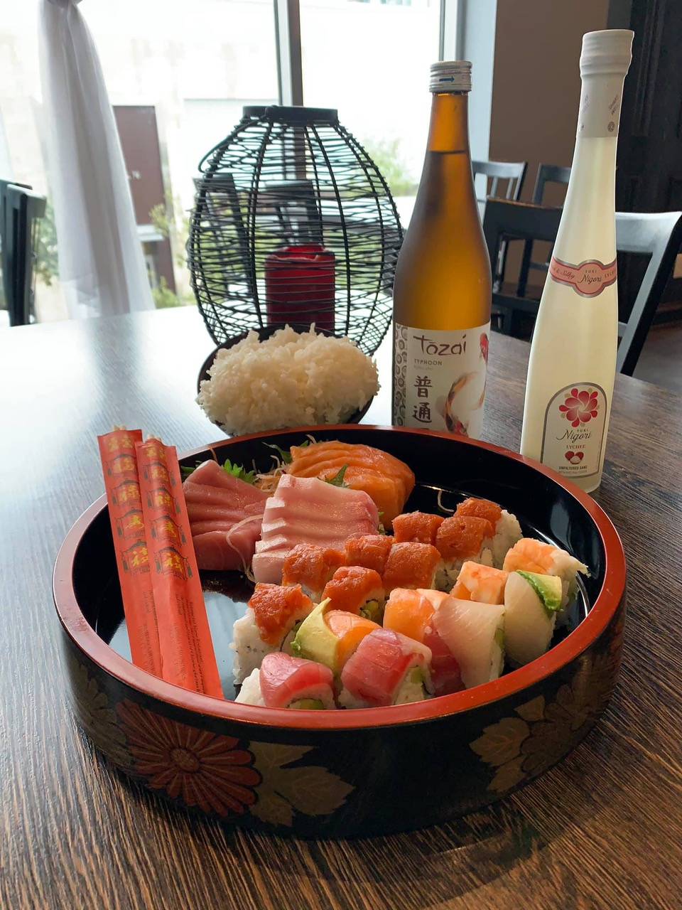 Sushi Marquee Open for Curbside and Delivery
